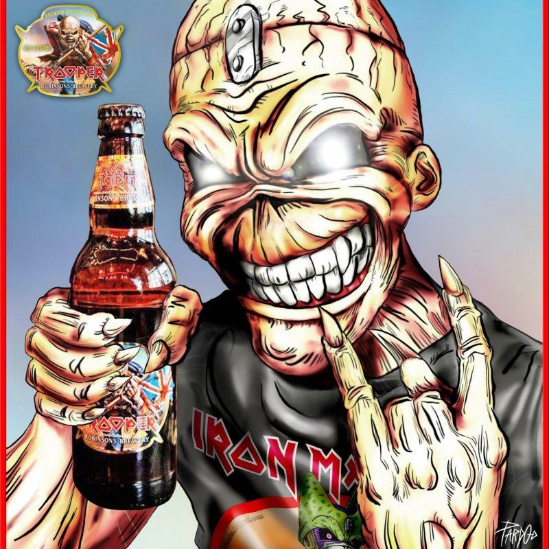 10 Best Eddie Iron Maiden Pics FULL HD 1080p For PC Desktop 2020 free download trooper beer iron maiden eddie music pinterest la biere 800x800