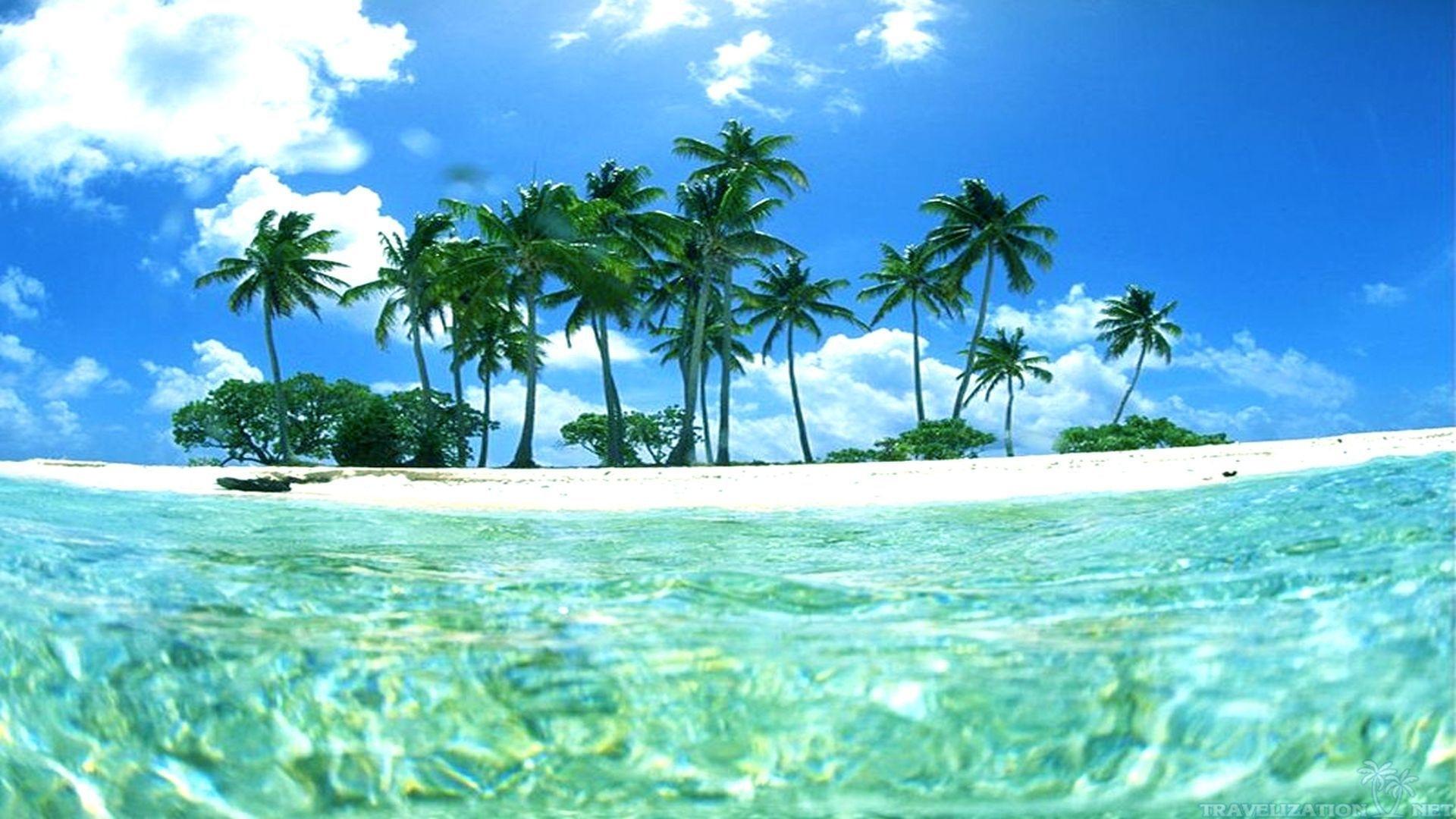 tropical island sunset wallpaper desktop background epic wallpaperz