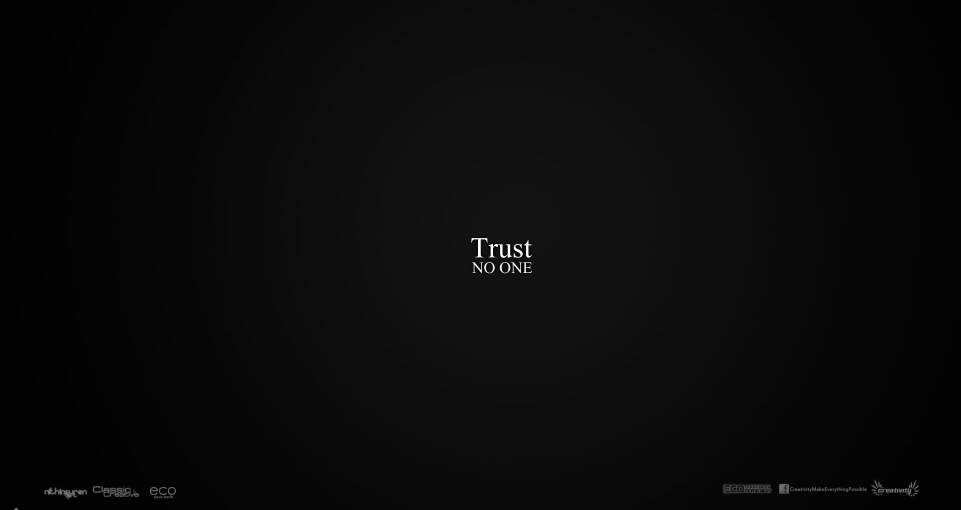 trust no one - walldevil