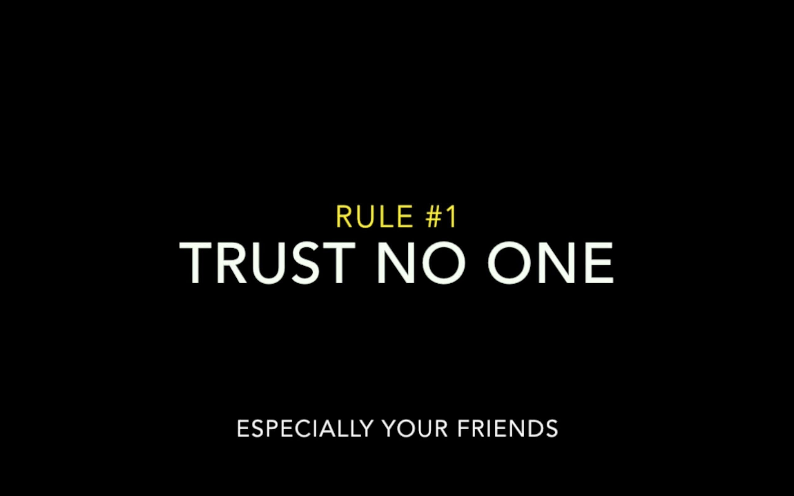 trust no one wallpapers - wallpaper cave