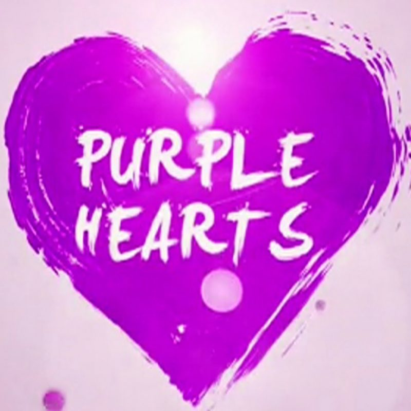 10 Most Popular Pictures Of Purple Hearts FULL HD 1920×1080 For PC Desktop 2020 free download tsn original purple hearts youtube 800x800