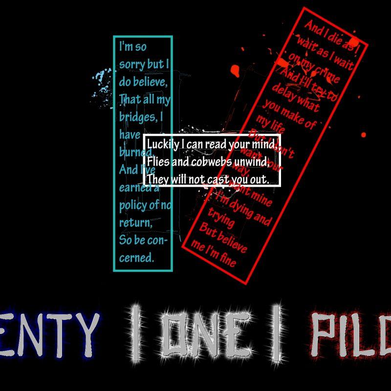 10 Best Twenty One Pilots Wallpaper Lyrics FULL HD 1920×1080 For PC Background 2018 free download twenty one pilots wallpapers wallpaper cave 1 800x800
