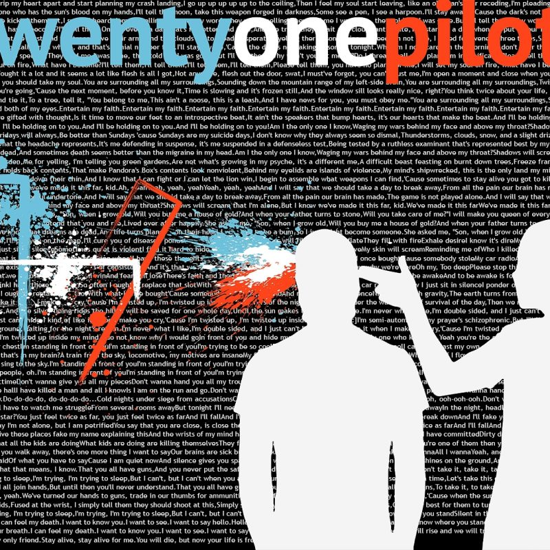 10 Best Twenty One Pilots Wallpaper Lyrics FULL HD 1920×1080 For PC Background 2018 free download twenty one pilots wallpapers wallpaper cave 800x800