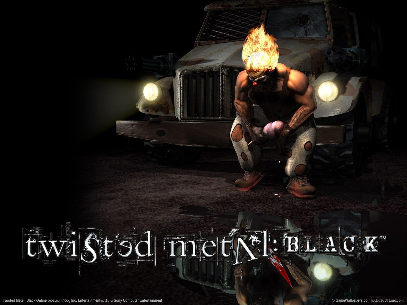 twisted metal black wallpapers - wallpaper cave