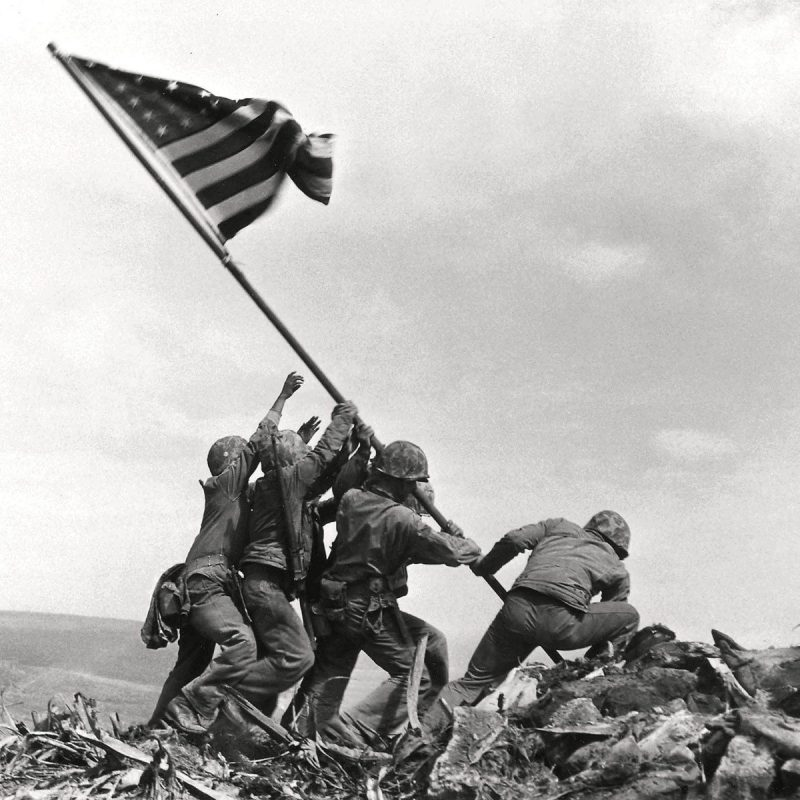 10 Top Raising The Flag On Iwo Jima In Color FULL HD 1080p For PC Desktop 2021 free download u s marines raising the flag at iwo jima iconic 8x10 historic 800x800