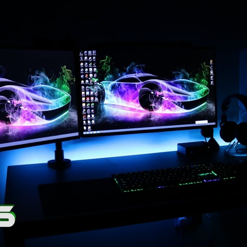 10 New Setup Dual Monitor Wallpaper FULL HD 1920×1080 For PC Background 2020 free download ultimate clean gaming setup 2016 evolution dual monitors gaming 1 800x800