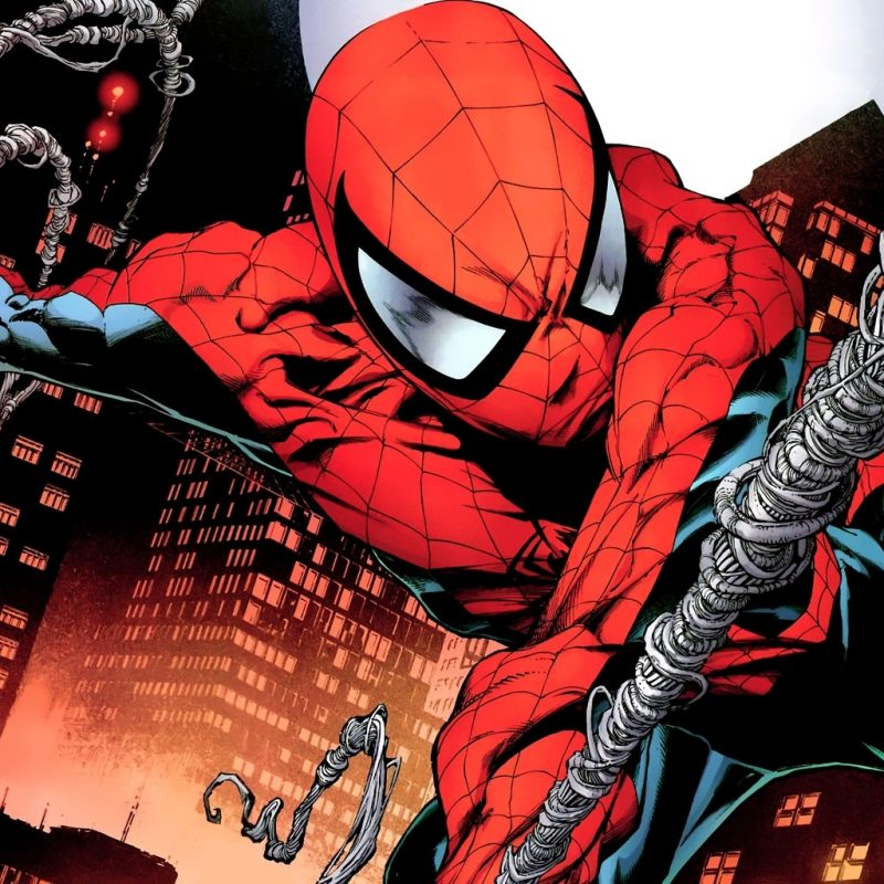 10 Top Ultimate Spider Man Comic Wallpaper FULL HD 1920×1080 For PC Background 2018 free download ultimate spider man comic wallpaper 800x800
