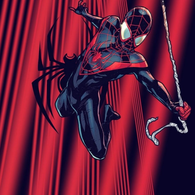 10 New Miles Morales Spider Man Wallpaper FULL HD 1920×1080 For PC Background 2018 free download ultimate spider man miles variant wallpapersquiddytron on 1 800x800