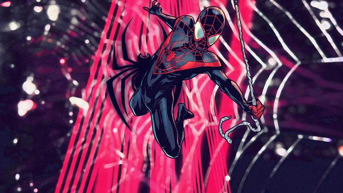 ultimate spider-man: miles | wallpapersquiddytron on deviantart