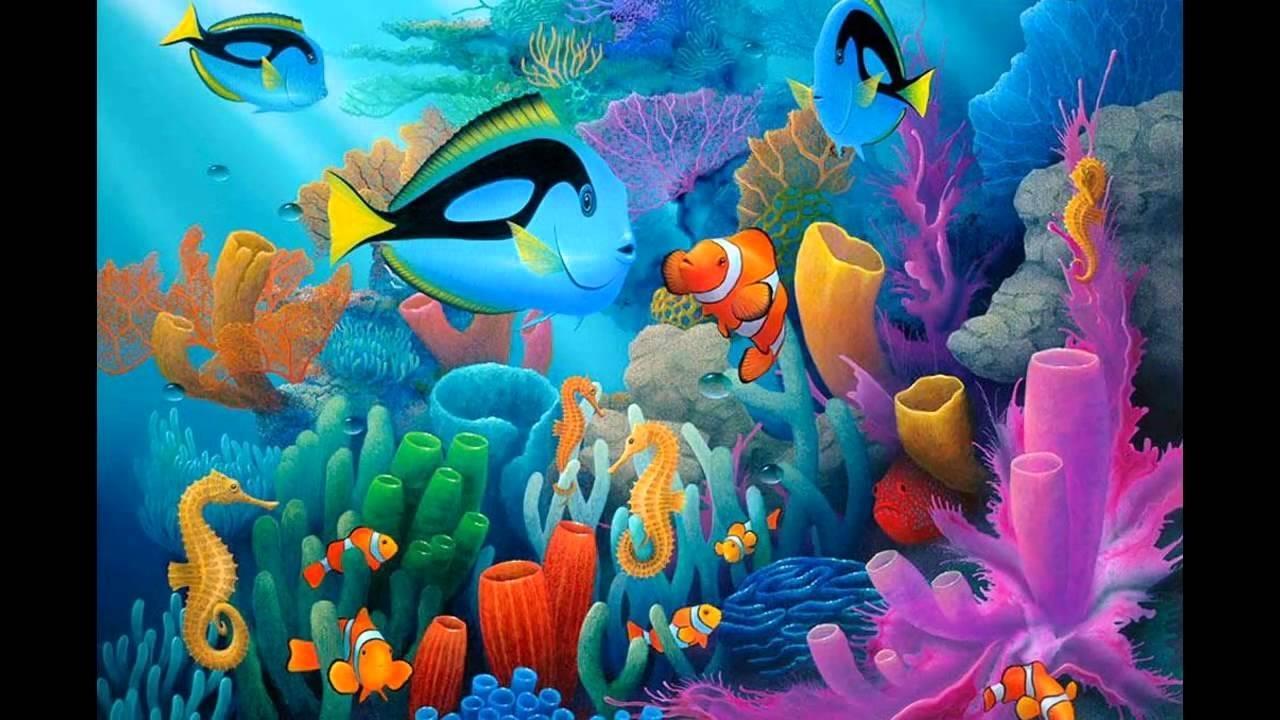 under sea wallpaper - youtube