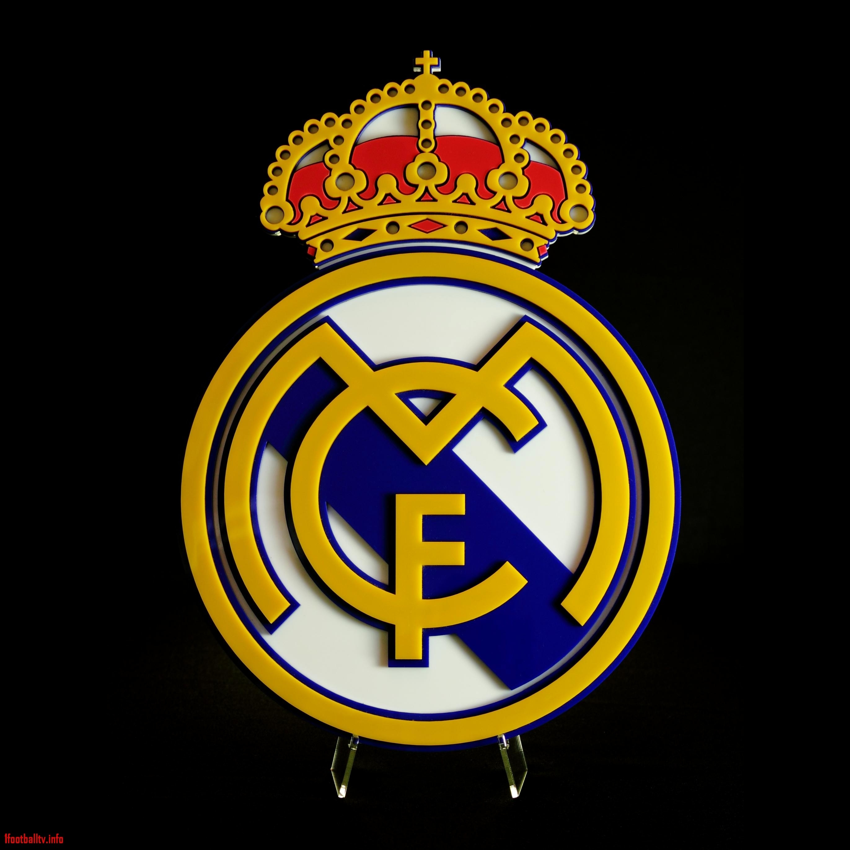 10 new real madrid logo 3d full hd 1080p for pc background 2018 free