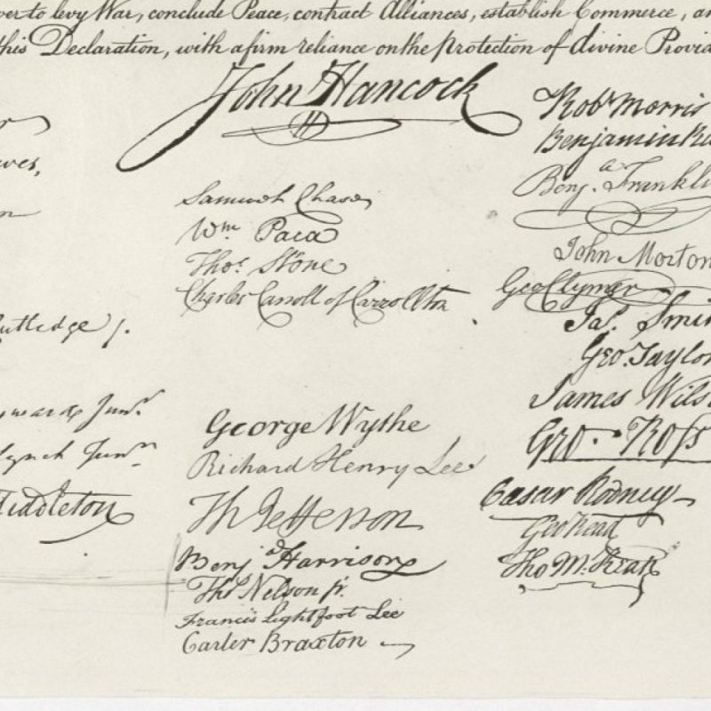 10 Best Declaration Of Independence Hd FULL HD 1920×1080 For PC Background 2018 free download usa historic signatures caligraphy declaration of independence 800x800