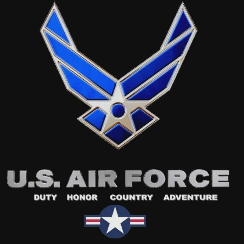 10 Most Popular Air Force Logo Wallpaper 1920X1080 FULL HD 1080p For PC Background 2018 free download usaf wallpaper 1920x1080 8548 wallpapers pinterest 800x800