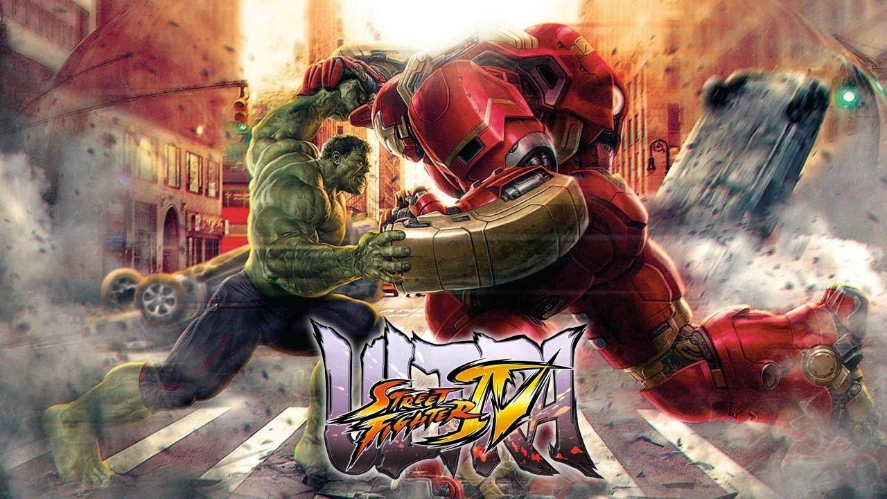 usf4 mods edition - iron man hulkbuster vs hulk (avengers age of