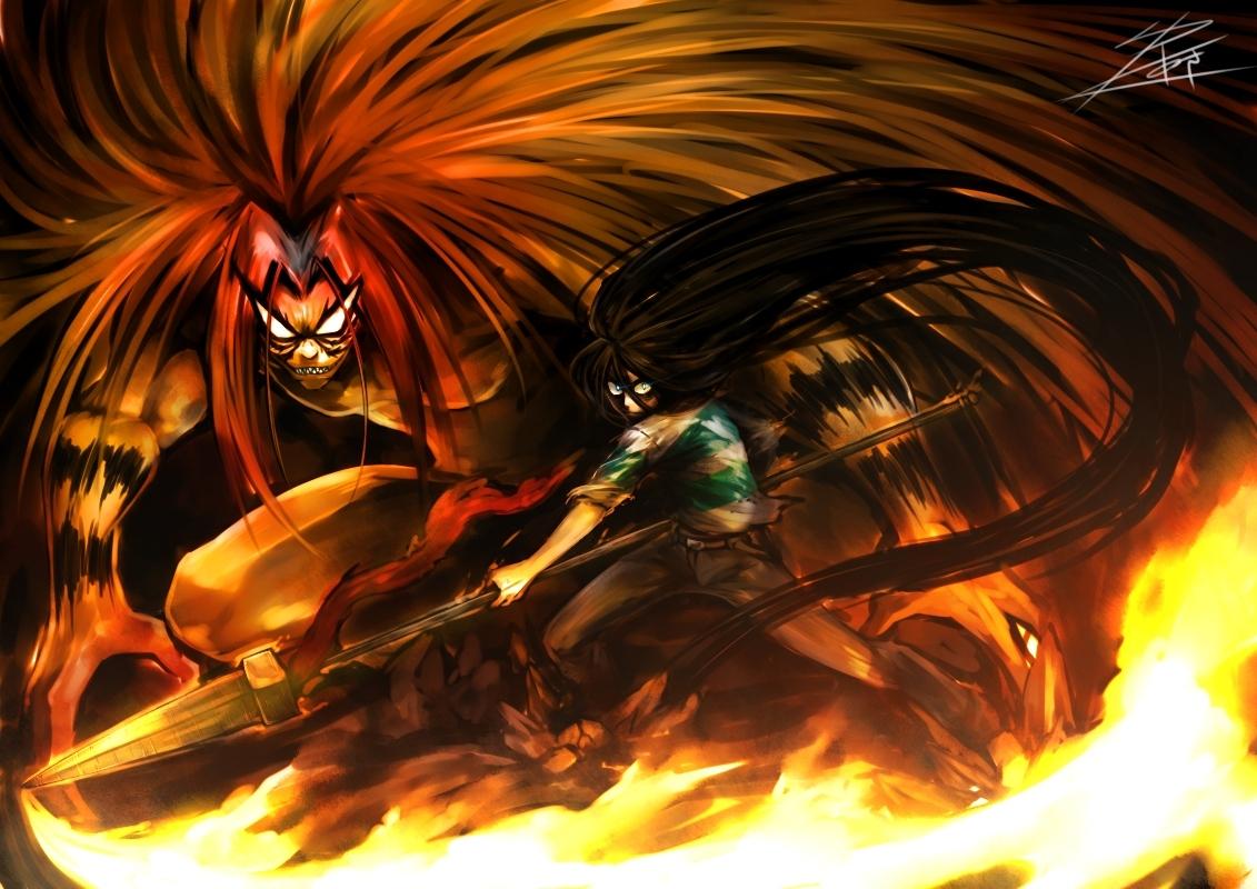 ushio to tora - zerochan anime image board
