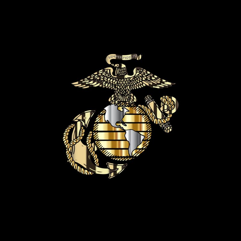 10 Best Marine Corps Emblem Wallpaper FULL HD 1920×1080 For PC Desktop 2018 free download usmc logo wallpapers group 56 1 800x800