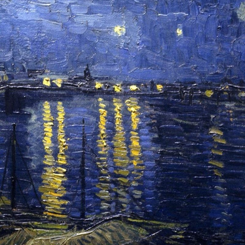 10 New Starry Night Over The Rhone Wallpaper FULL HD 1080p For PC Background 2020 free download van goghs painting in iphone wallpaper its van gogh pinterest 1 800x800