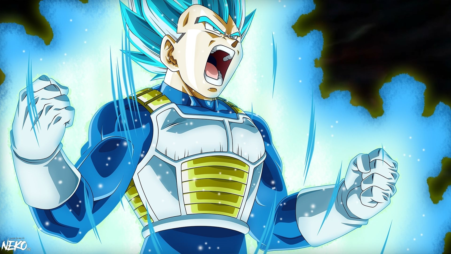 vegeta super saiyan blue 2 wallpapers - wallpaper cave