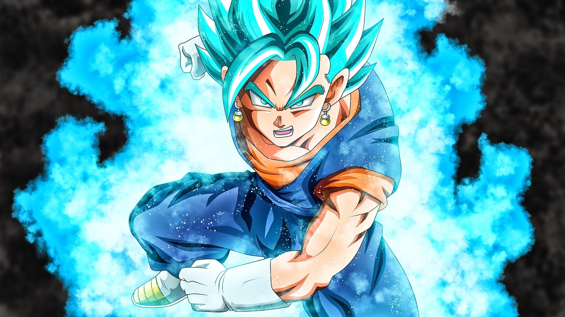vegito super saiyan blue dbs wallpaper #39966