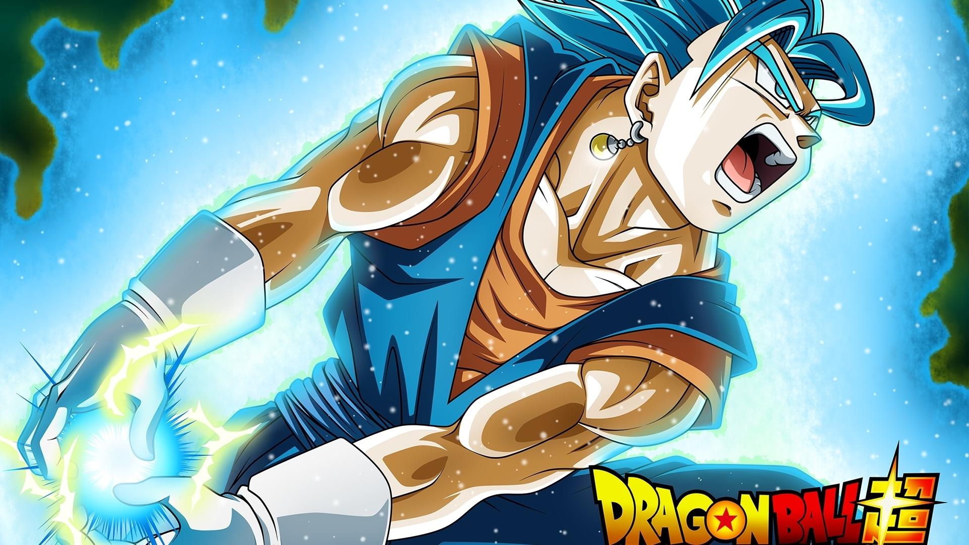 vegito super saiyan blue dragon ball wallpaper #42324