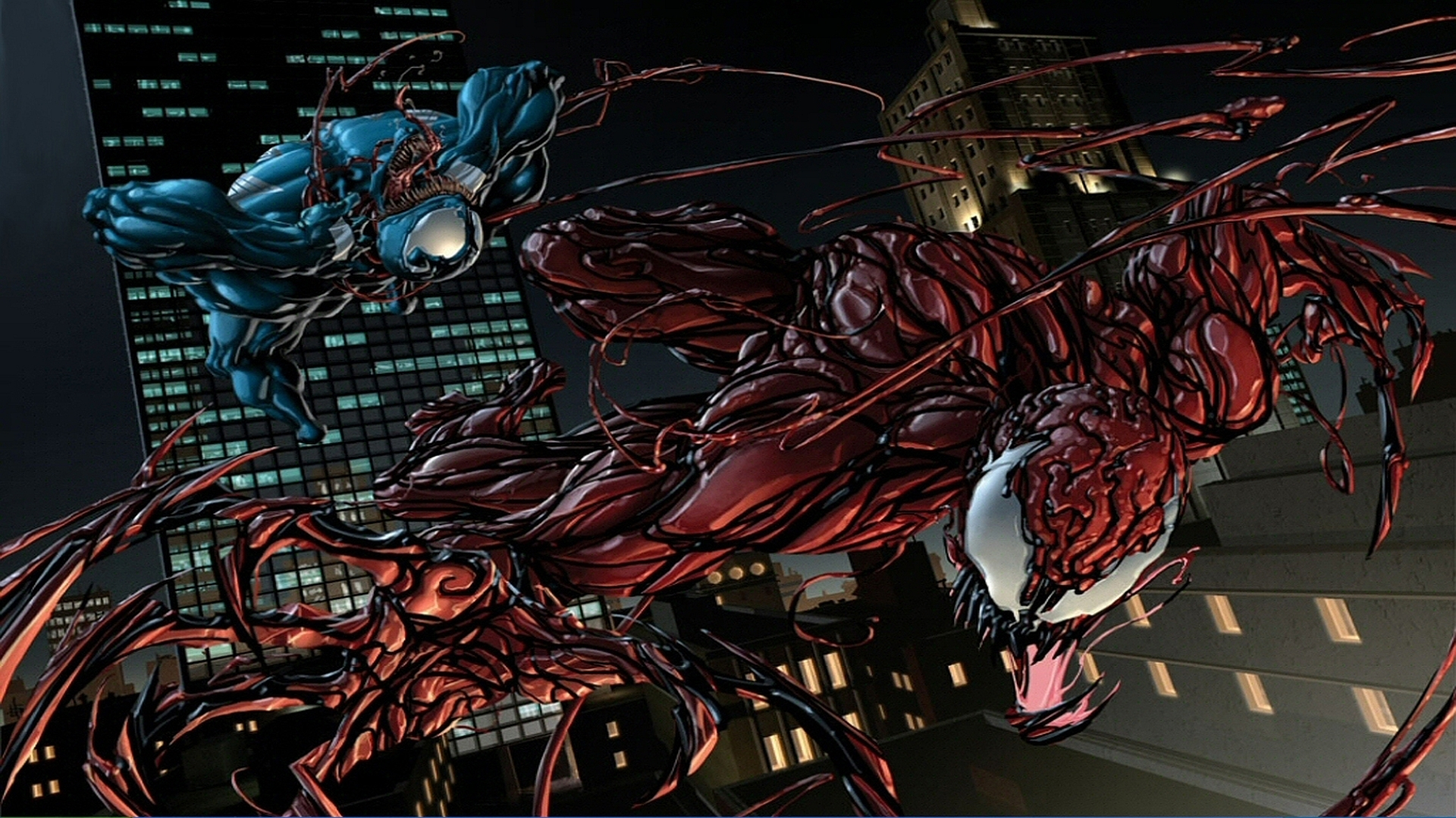 venom vs carnage fond d'écran and arrière-plan | 1920x1079 | id:495898