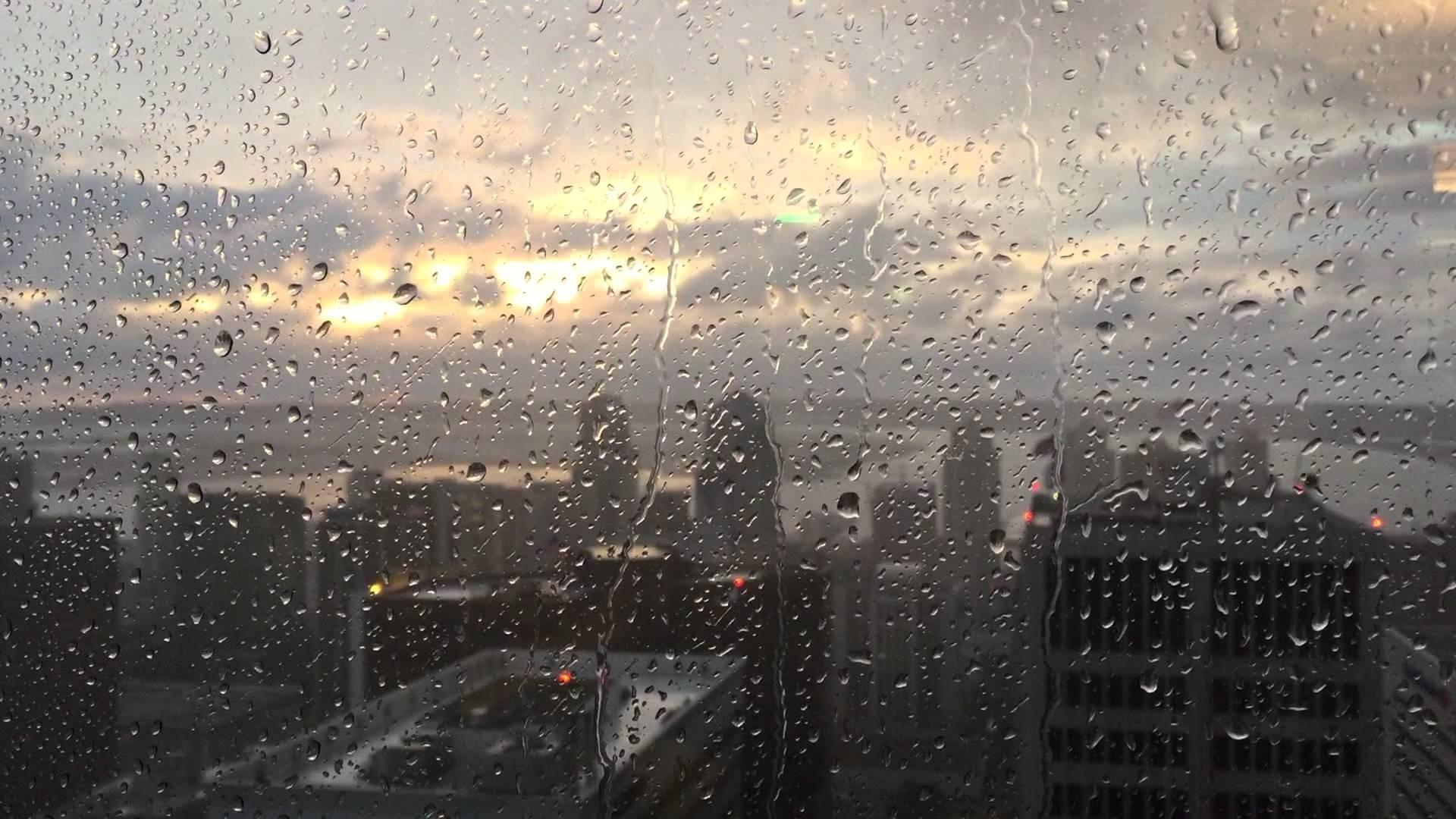 video background rain window - youtube