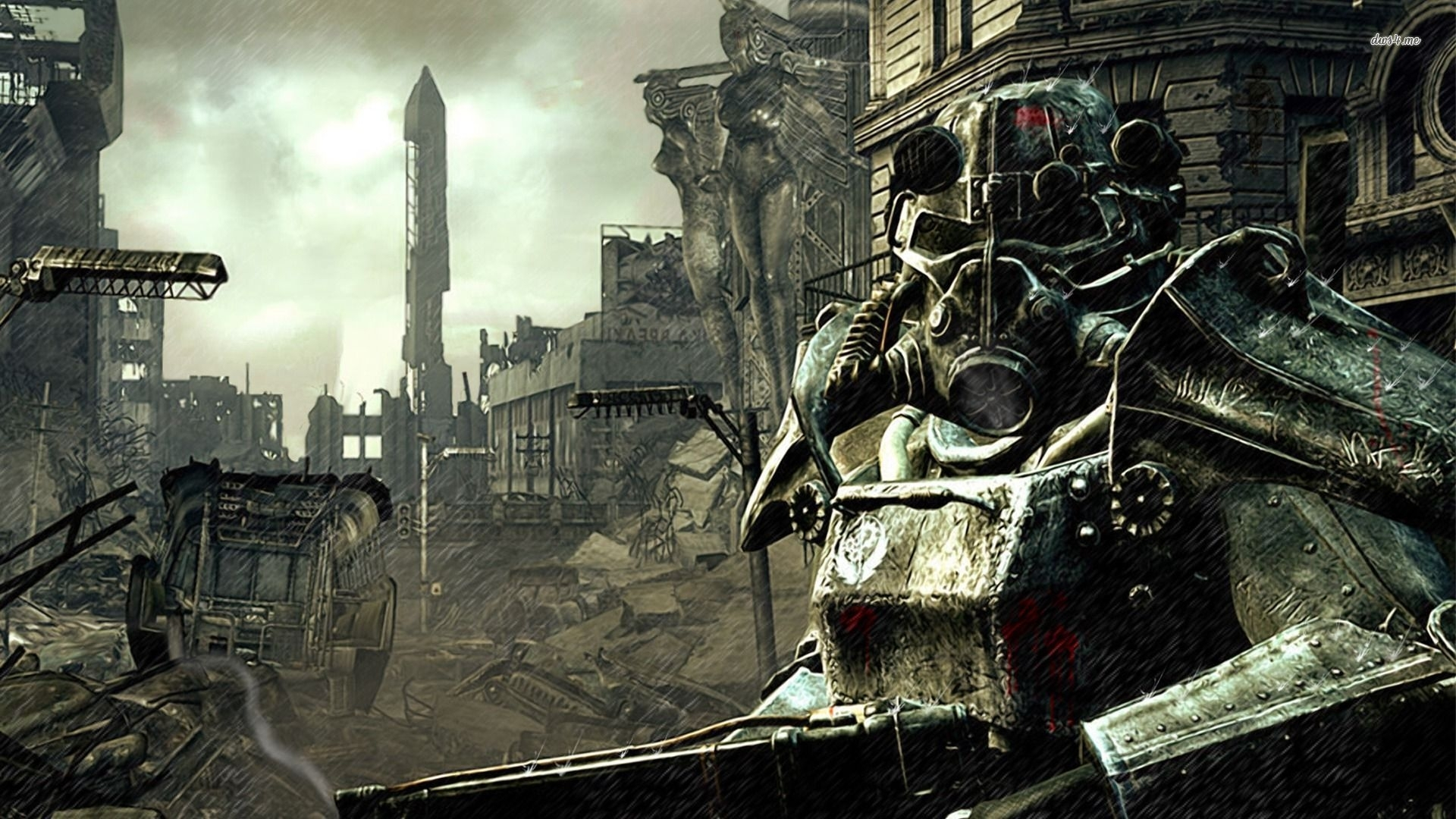 video game fallout 3 wallpapers (desktop, phone, tablet) - awesome