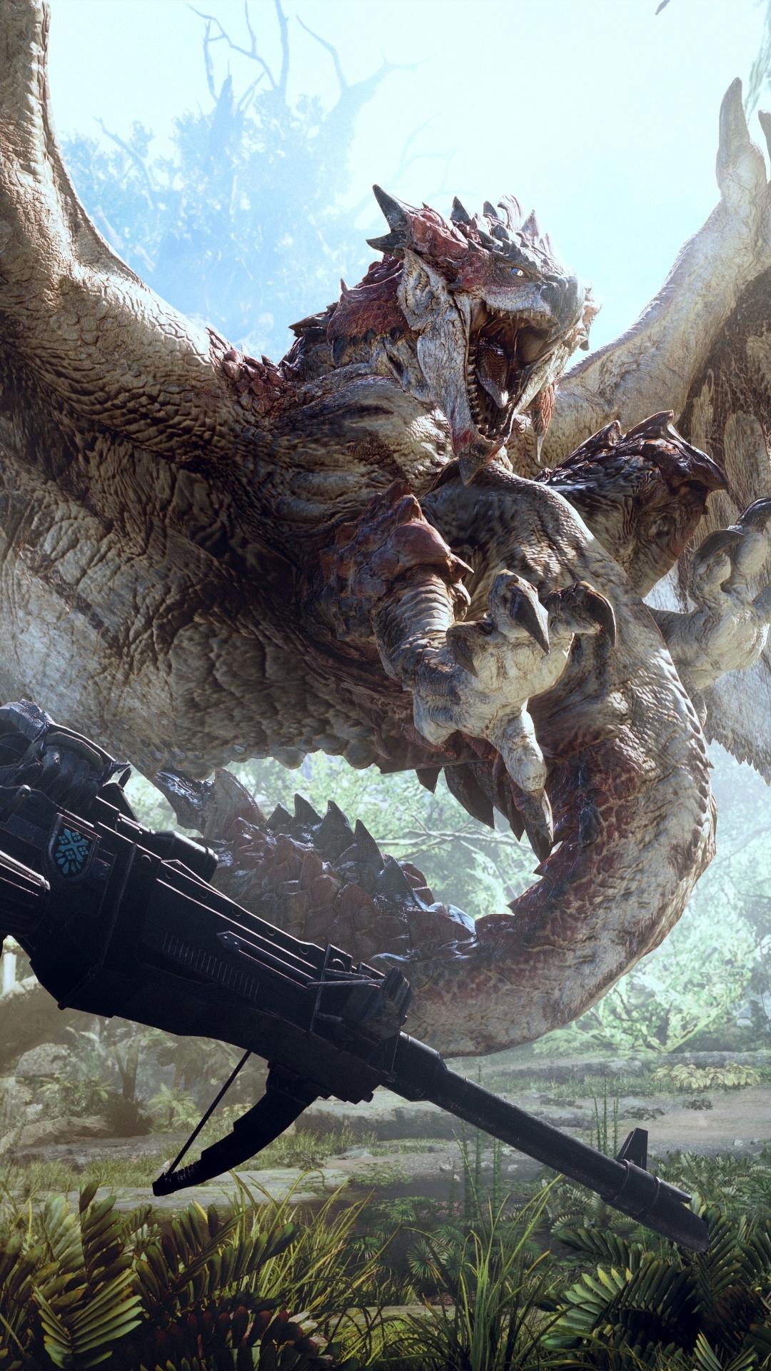 video game/monster hunter: world (1080x1920) wallpaper id: 686071