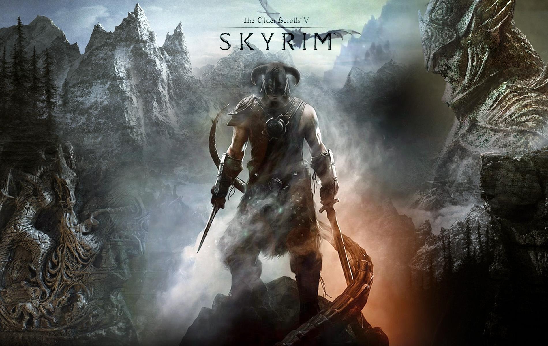 video game the elder scrolls v: skyrim wallpapers (desktop, phone