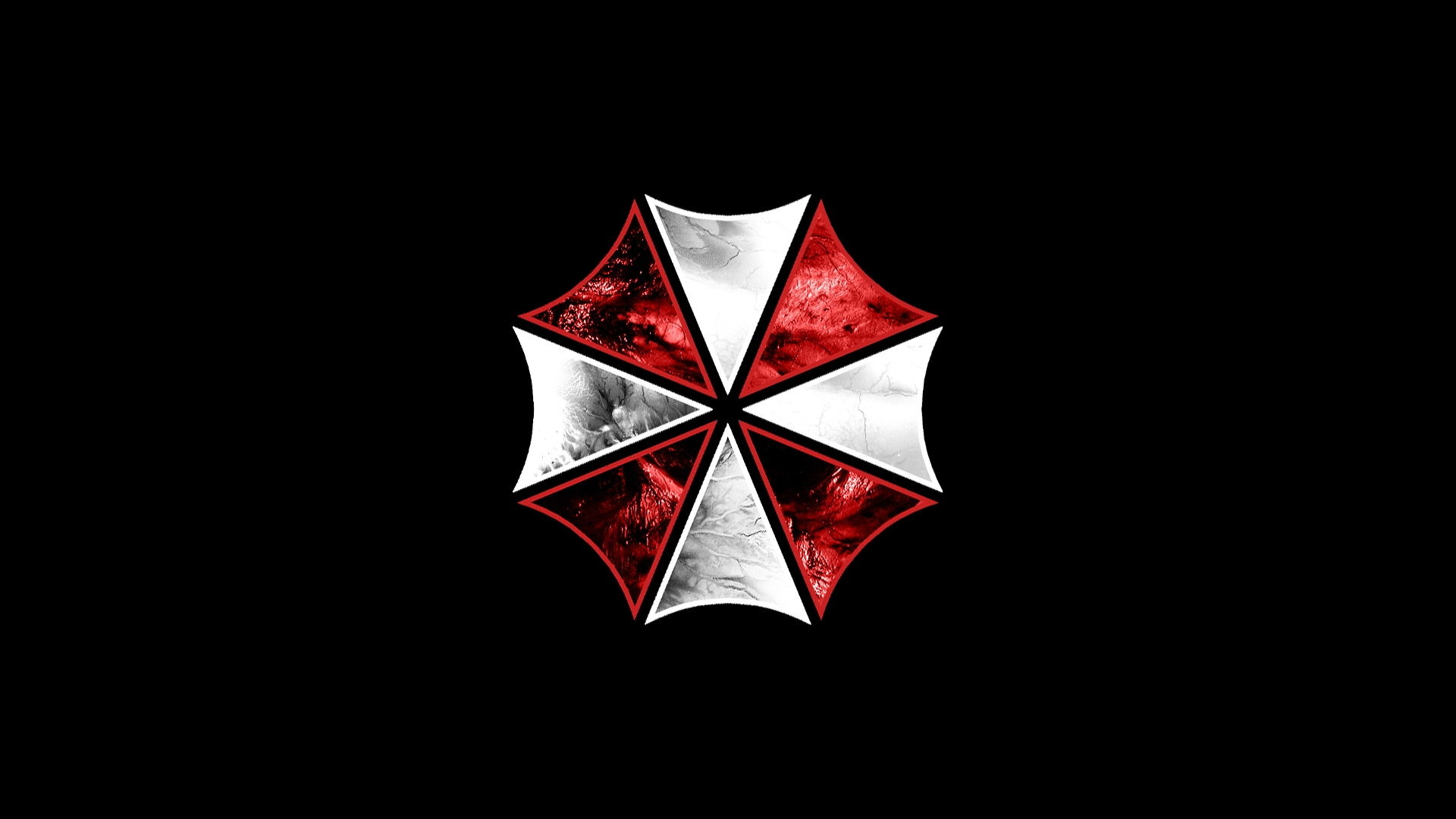 video games, movies, resident evil, umbrella corp., logos, simple