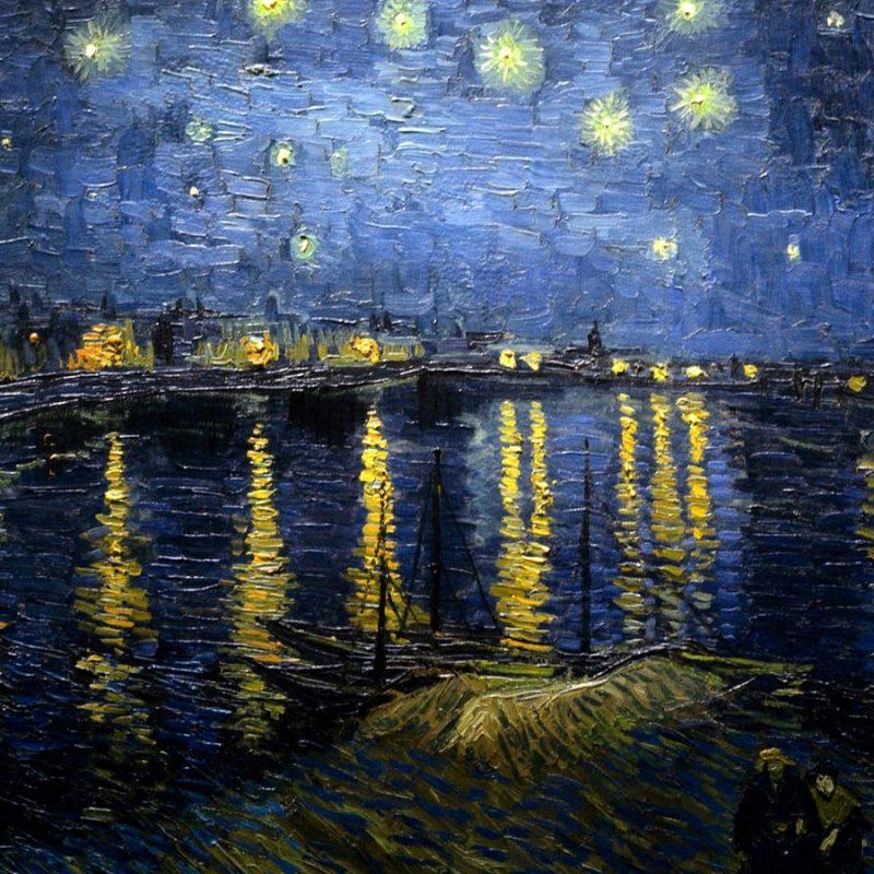 10 New Vincent Van Gogh Wallpaper Hd FULL HD 1080p For PC Background 2018 free download vincent van gogh nuit etoilee au dessus du rhone 10 000 fonds d 1 800x800