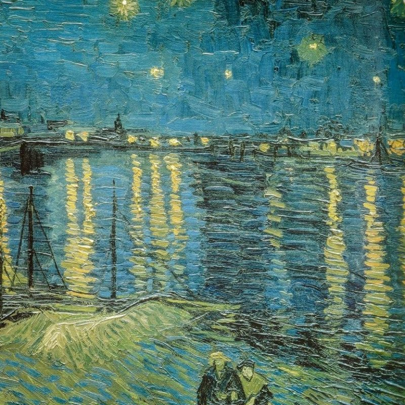 10 New Starry Night Over The Rhone Wallpaper FULL HD 1080p For PC Background 2020 free download vincent van gogh starry night over the rhone 1888 detailed 800x800