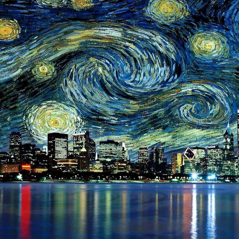 10 Best Van Gogh Hd Wallpaper FULL HD 1080p For PC Desktop 2018 free download vincent van gogh the starry night wallpaper wallpaper studio 10 2 800x800