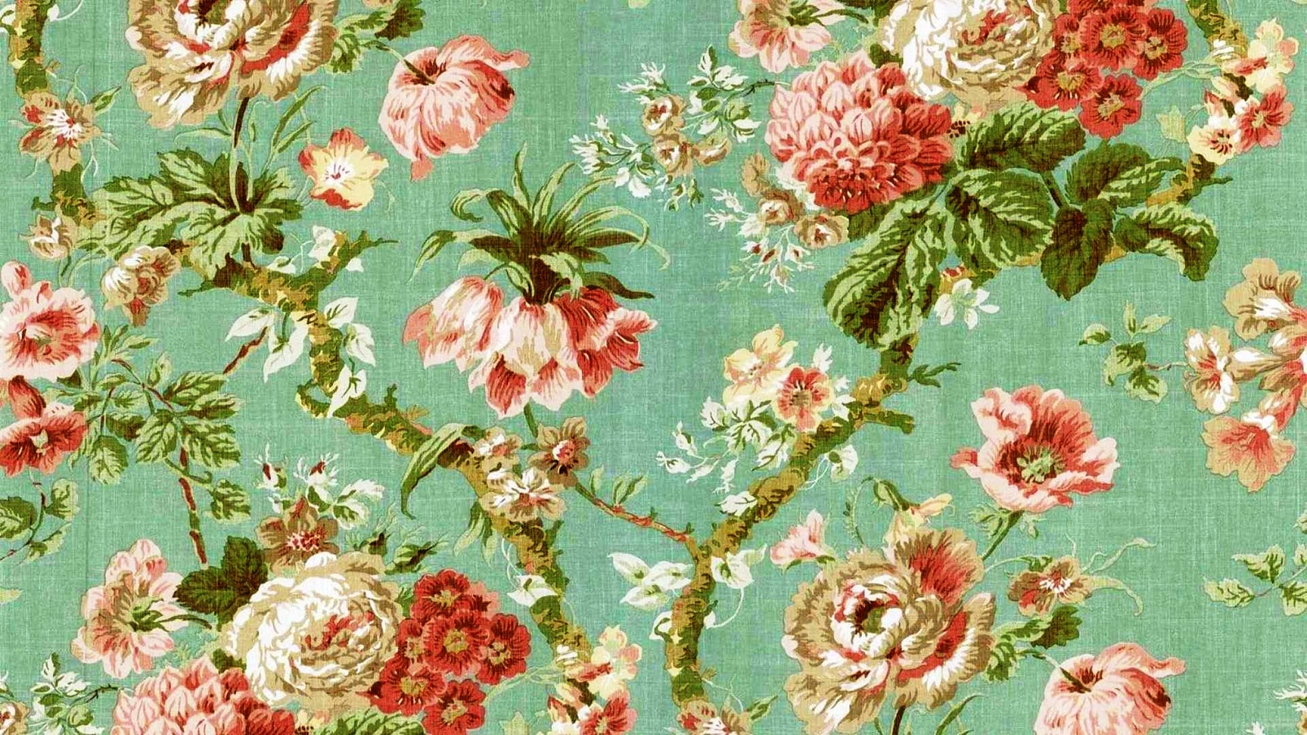 vintage floral wallpaper - google search | tattoos! | pinterest