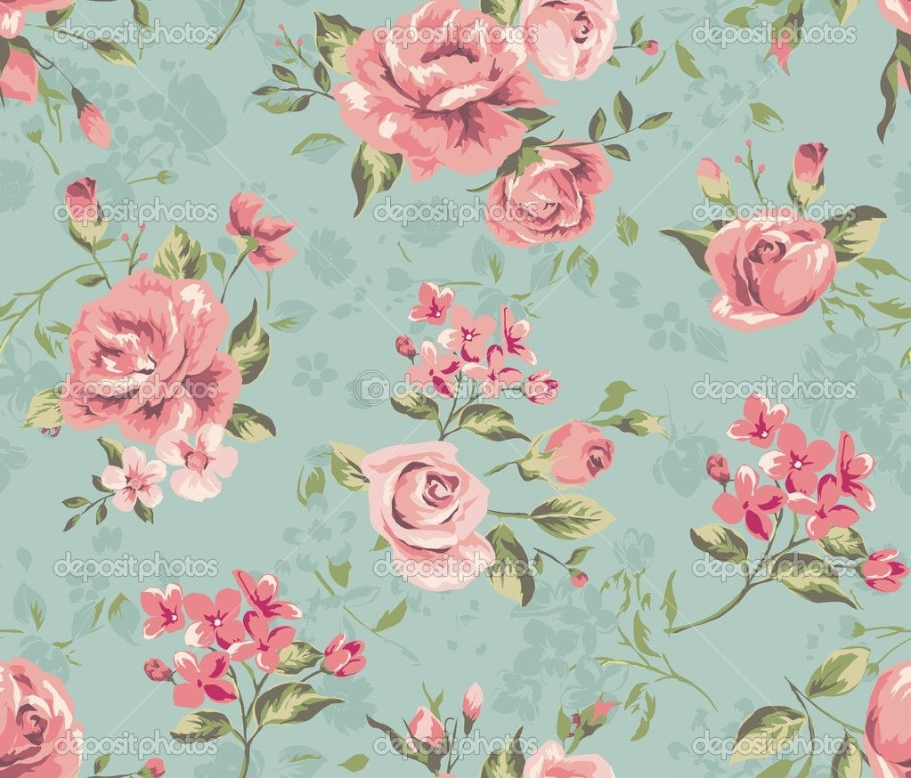 vintage flower wallpaper backgrounds | classic wallpaper seamless