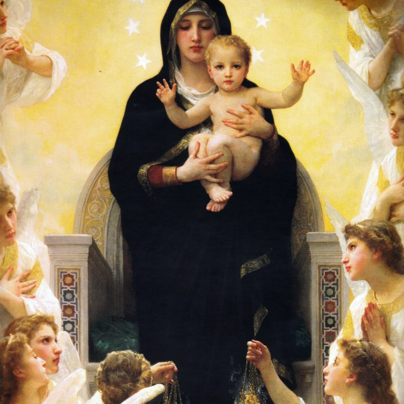 10 Best Pictures Of Mary And Baby Jesus FULL HD 1920×1080 For PC Desktop 2018 free download virgin mary with child jesus surroundedangels bouguereau 800x800