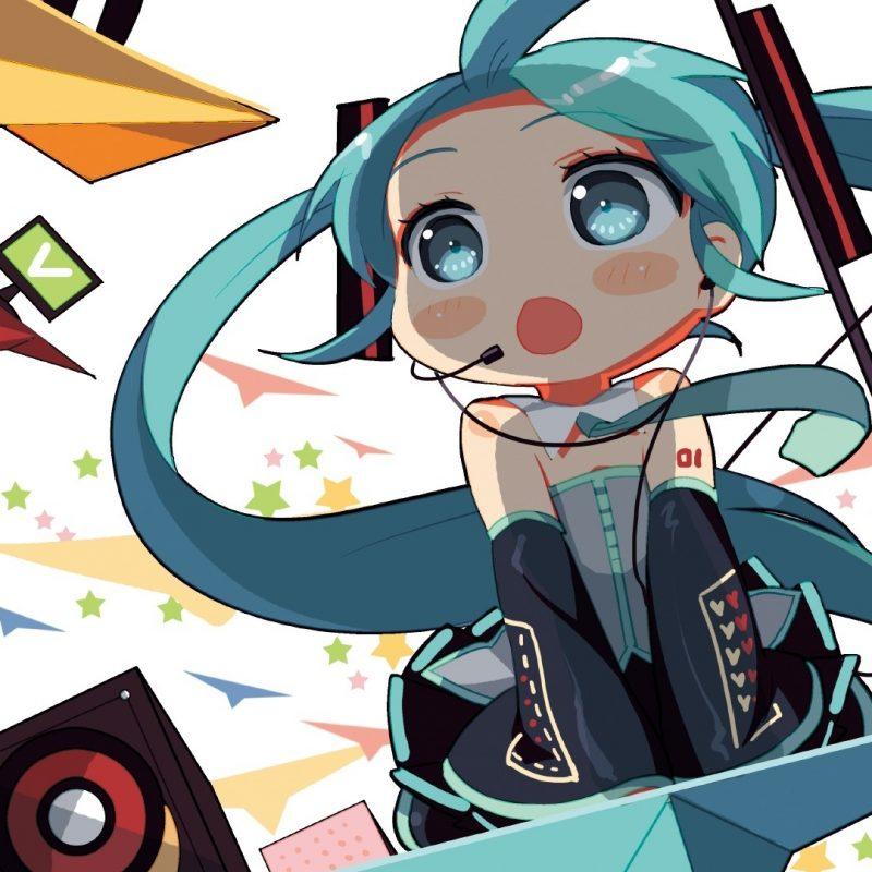 10 Latest Hatsune Miku Chibi Wallpaper FULL HD 1080p For PC