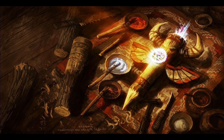 wallpaper : 1440x900 px, shaman, totems, world of warcraft 1440x900