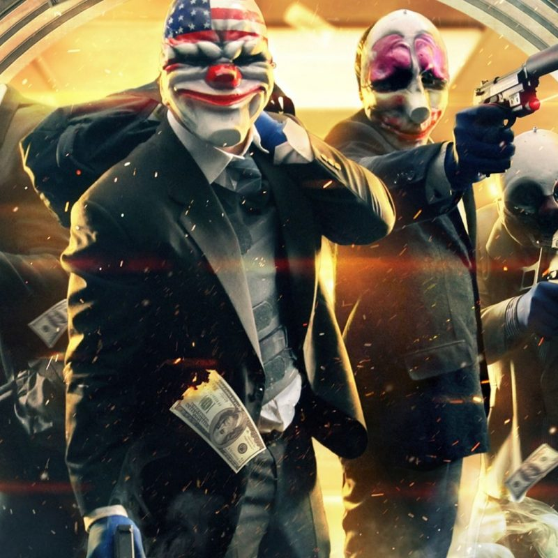 10 Most Popular Payday 2 Wallpaper Hd FULL HD 1920×1080 For PC Desktop 2018 free download wallpaper 19 wallpaper from payday 2 gamepressure 800x800