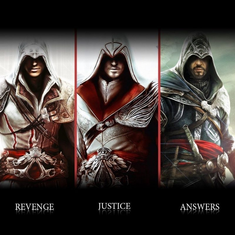 10 Best Assassin's Creed Ezio Wallpaper FULL HD 1080p For PC Background 2018 free download wallpaper assassins creed ezio connor altair ubisoft animus 800x800