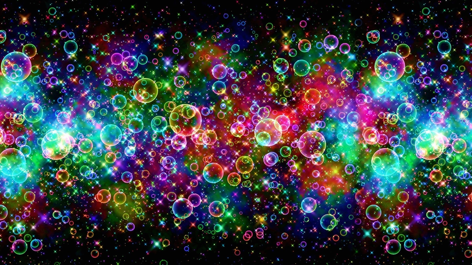 wallpaper balls and lights abstract 1920 x 1080 full hd - 1920 x