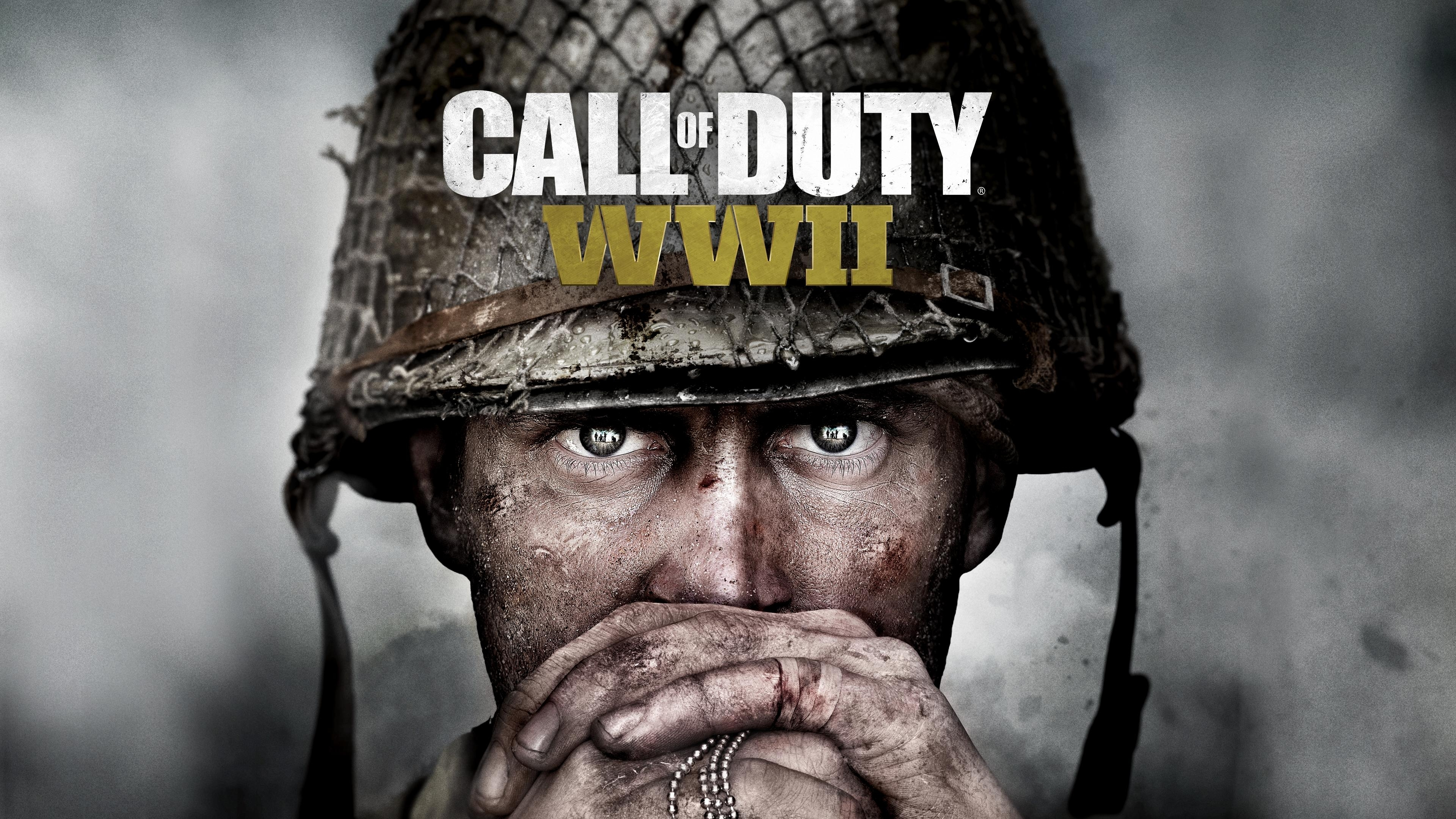 wallpaper call of duty wwii, 4k, games, #7364
