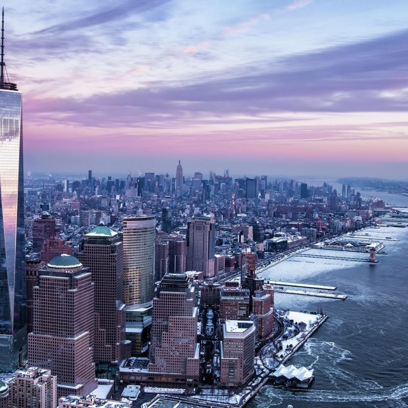 10 Latest One World Trade Center Wallpaper FULL HD 1920×1080 For PC Background 2021 free download wallpaper city cityscape winter skyline skyscraper evening 800x800