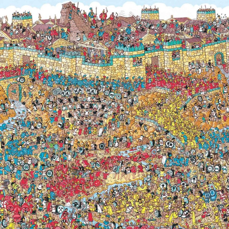 10 Best Where's Waldo Wallpaper 1920X1080 FULL HD 1080p For PC Background 2021 free download wallpaper city puzzles waldo art 1920x1080 dashopepper 800x800