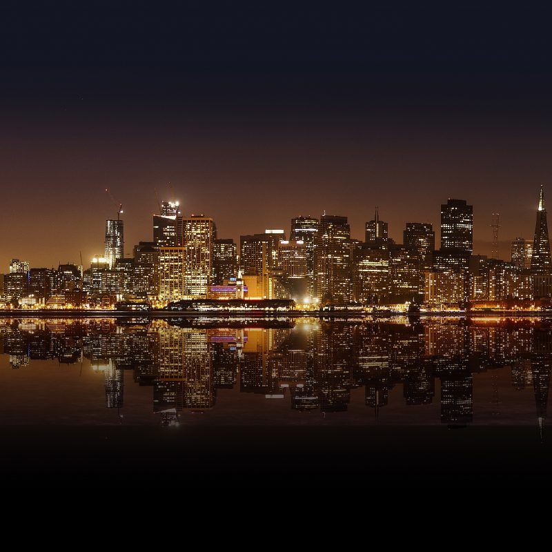 10 Latest San Francisco At Night Wallpaper FULL HD 1080p For PC Desktop 2020 free download wallpaper cityscape reflection skyline skyscraper evening san 800x800