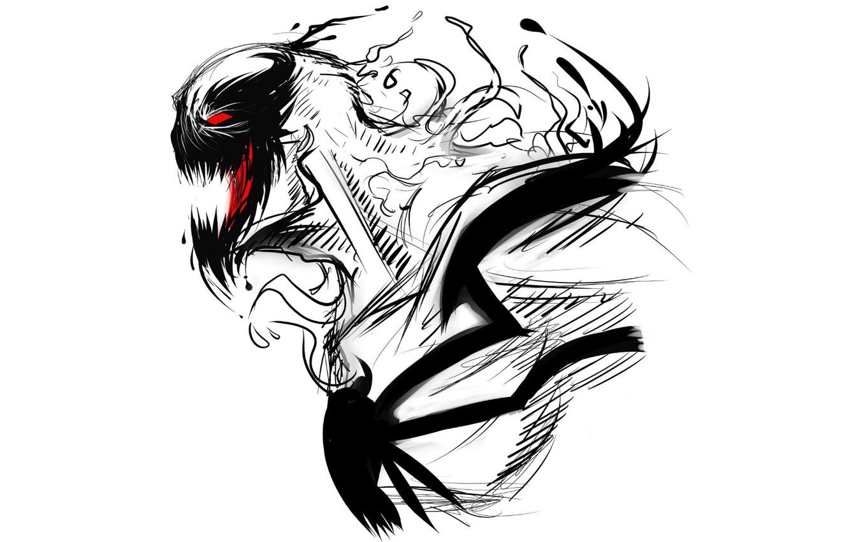 Source: img4.goodfon.com. Title : wallpaper colors, white, black, comics, art, marvel, anti-venom. Dimension : 1332 x 850. File Type : JPG/JPEG