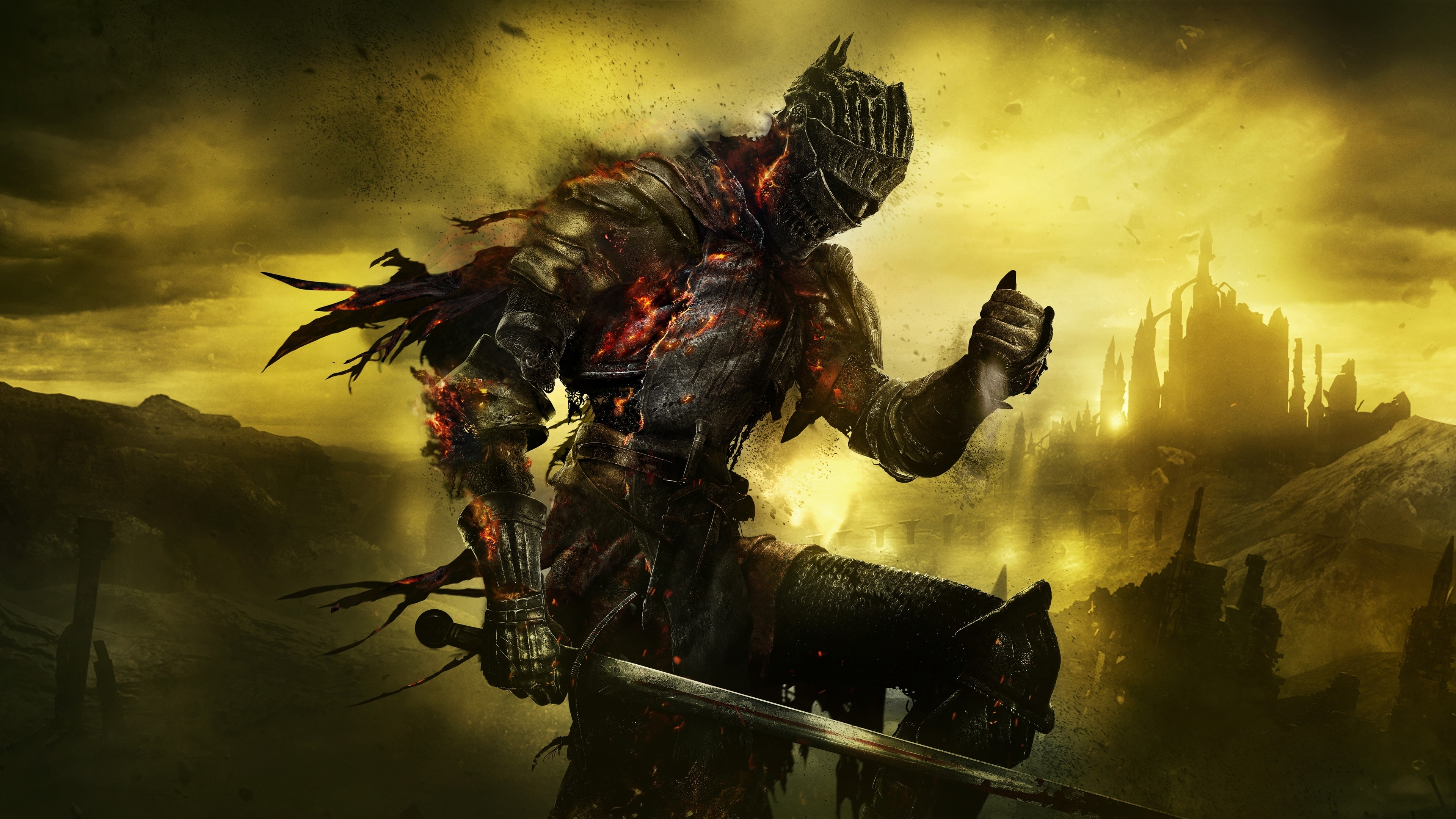 wallpaper dark souls iii, key art, 5k, games, #11365