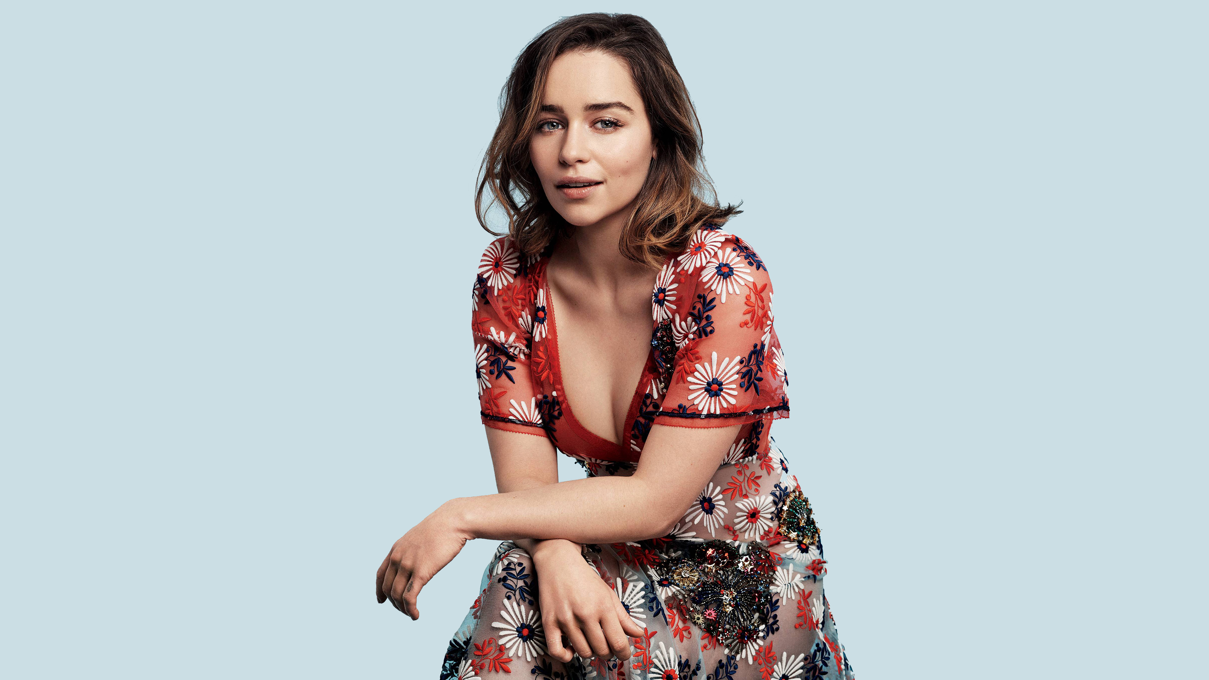 wallpaper emilia clarke, hd, 4k, celebrities, #4451