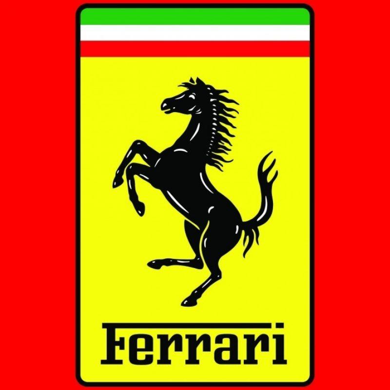 10 Best Ferrari Logo High Resolution FULL HD 1080p For PC Background 2020 free download wallpaper ferrari logo automotive 674 800x800