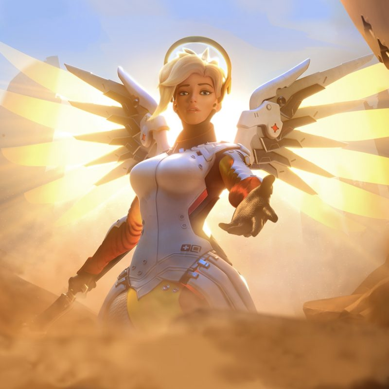 10 New Overwatch Triple Monitor FULL HD 1080p For PC Background 2021 free download wallpaper fire mercy overwatch ultrawide triple screen 800x800